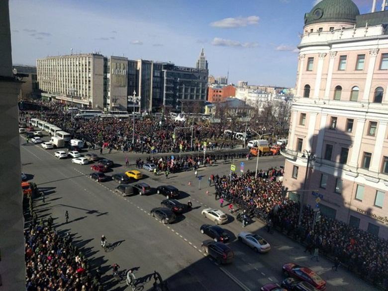 РОССИЯ=митинги
