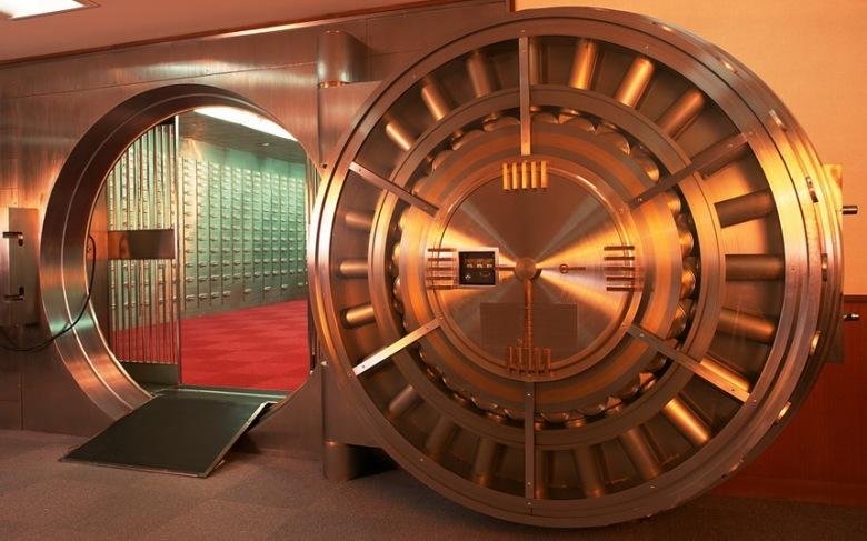 банк хранилище вход