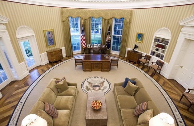 Белый дом-Овальный кабинет