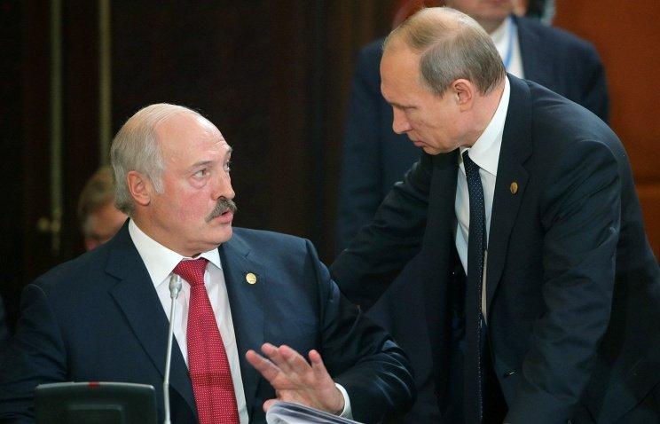 Лукашенко =Путин