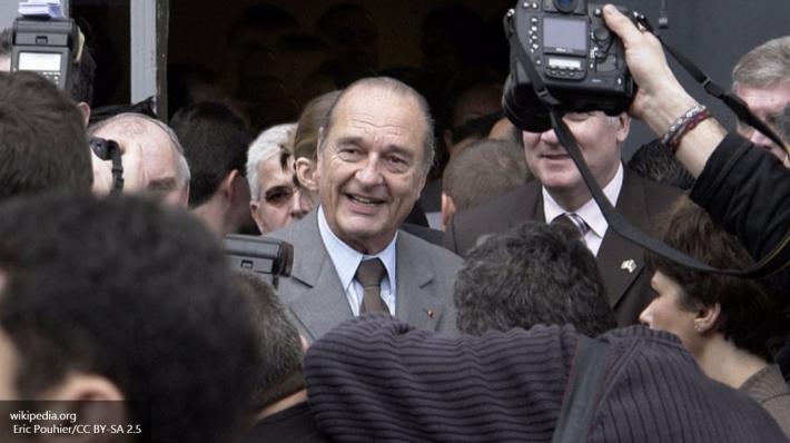 Президент Ширак