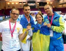 чемпионка Вікторія Марчук тхеквондо