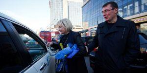нардеп Луценко Ирина и авто