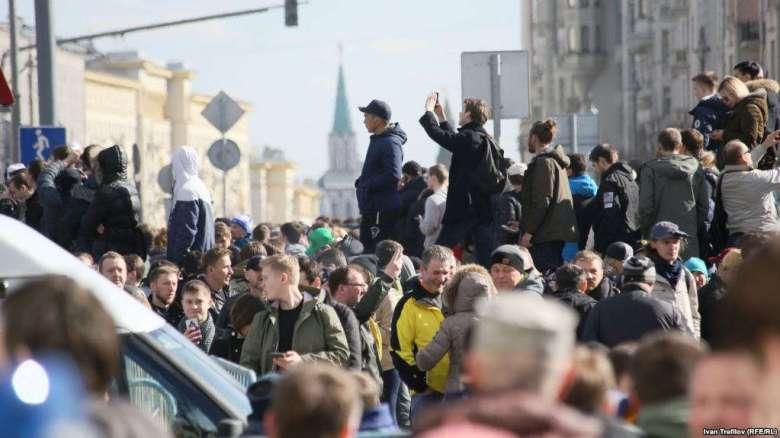 Россия -протесты