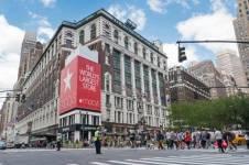 США -Нью-Йорк-магазин