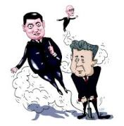 Порошенко -Гройсман -карикатура