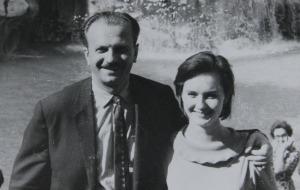 Юрий Тимошенко и Юлия Пашковская. Начало 60 - х.