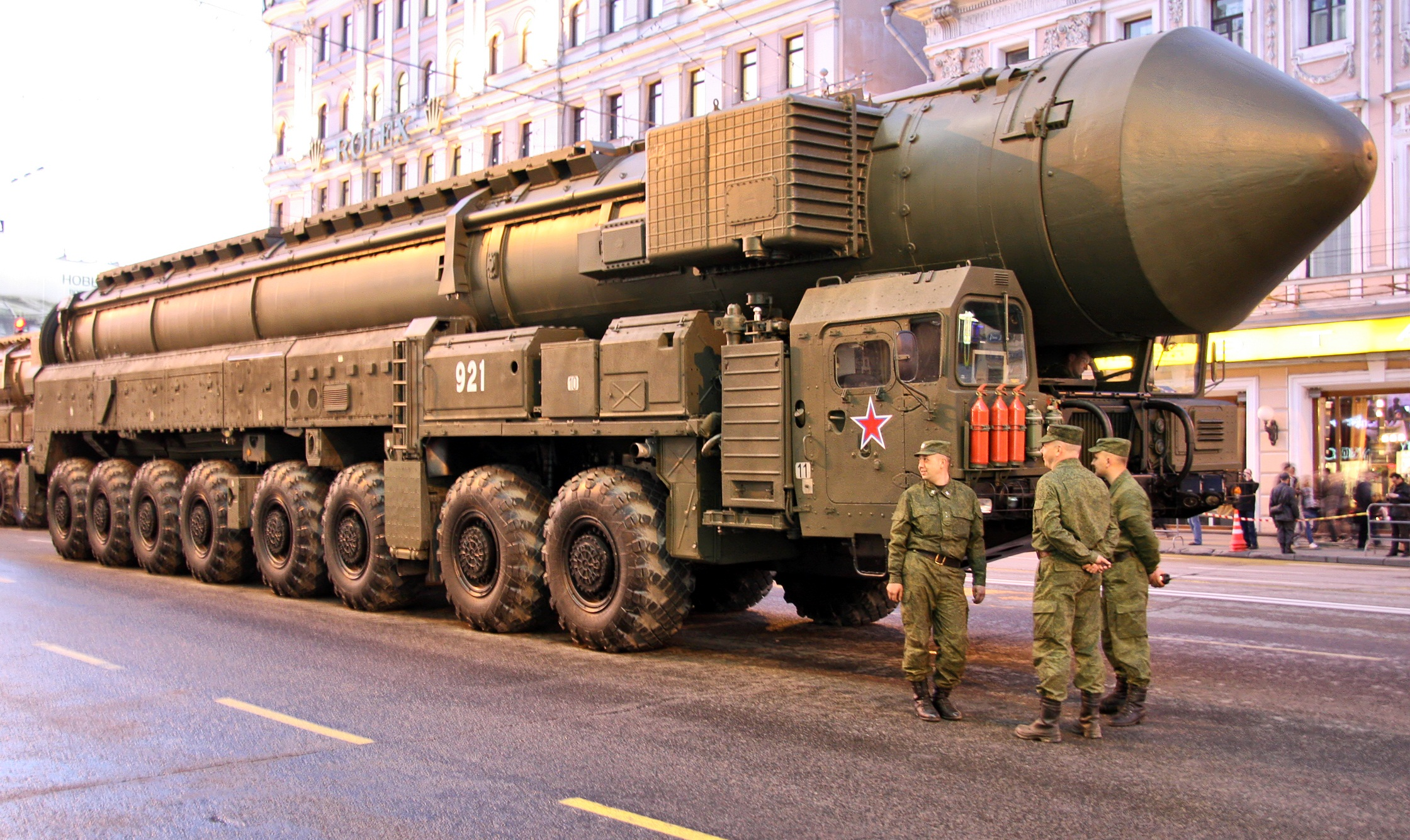 ракета Тополь-М-