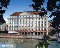 Женева=отеле Four seasons.