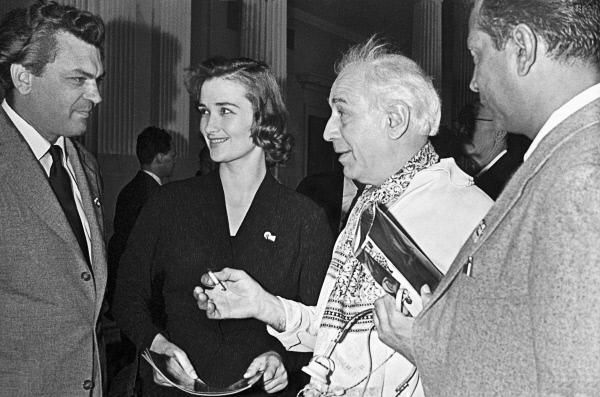На Первом Московском международном кинофестивале 1959 года