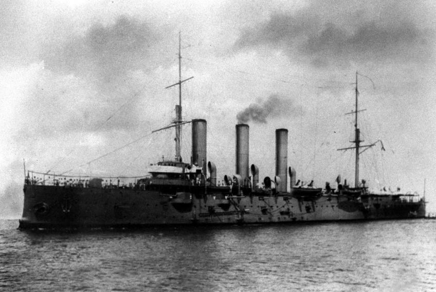 Крейсер Аврора 1912 год