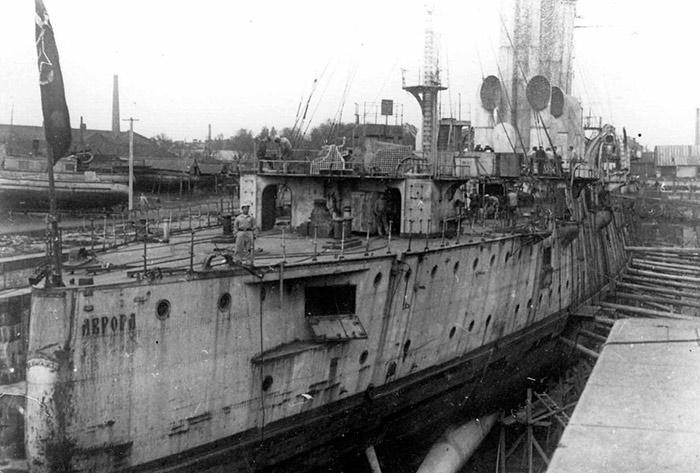 крейсер Аврора 1923 год