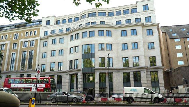 Пинчук - офисный центр на улице Найтсбридж Лондона, престижном районе Белгрейвии