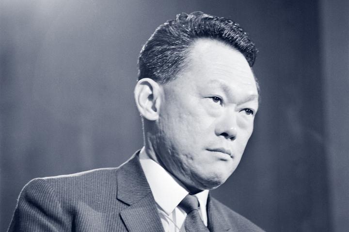 Сингапурский диктатор Ли Куан Ю
