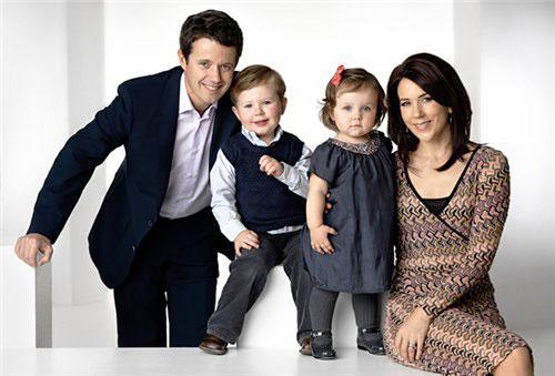3. Королевская семья Дании