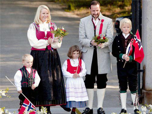 5. Королевская семья Норвегии