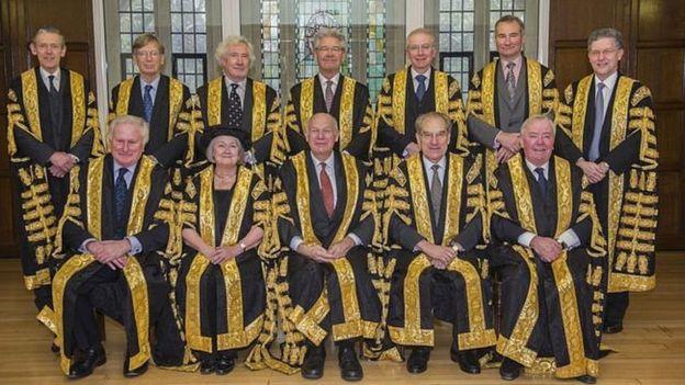 Высокий суд Англии и Уэльса=члены