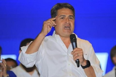 Гондурас президент