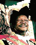 Жан Бокасса диктатор Центральноафриканской республики