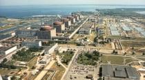 Запорожская АЭС с высоты