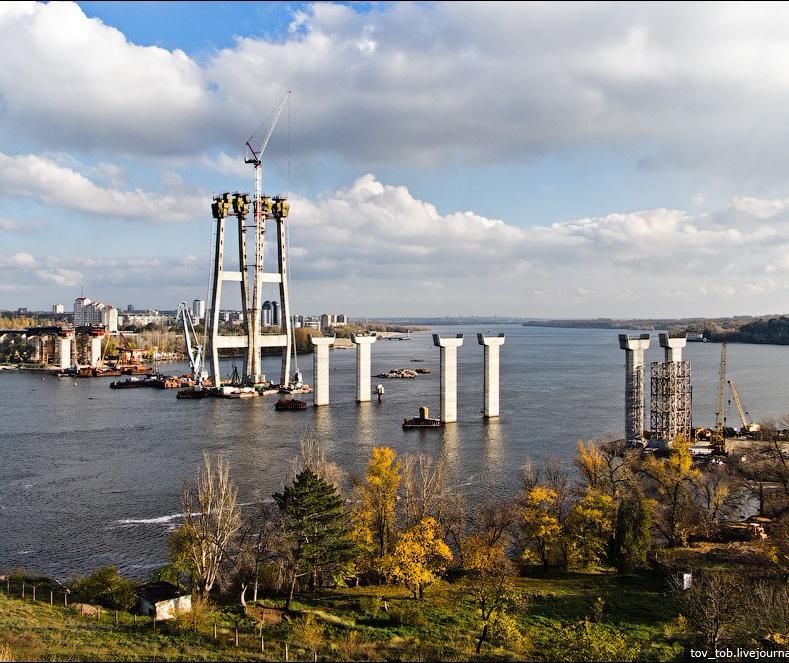 Запорожье мост