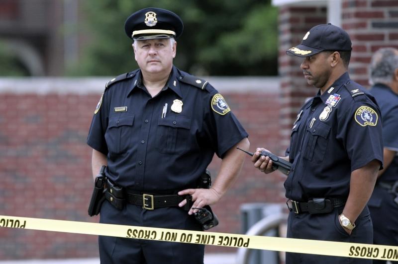 полиция США фото Minval.az