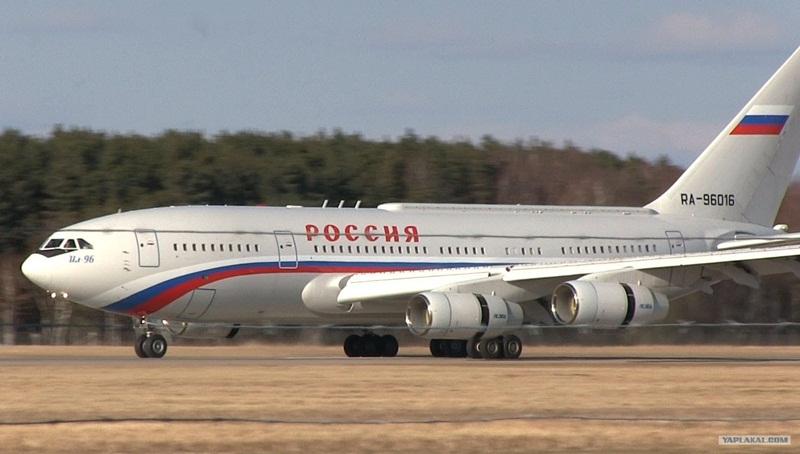 самолет РФ Путин