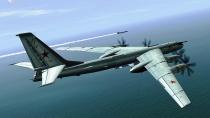 самолет Ту-95МС Медведь