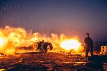 война = стреляет орудие
