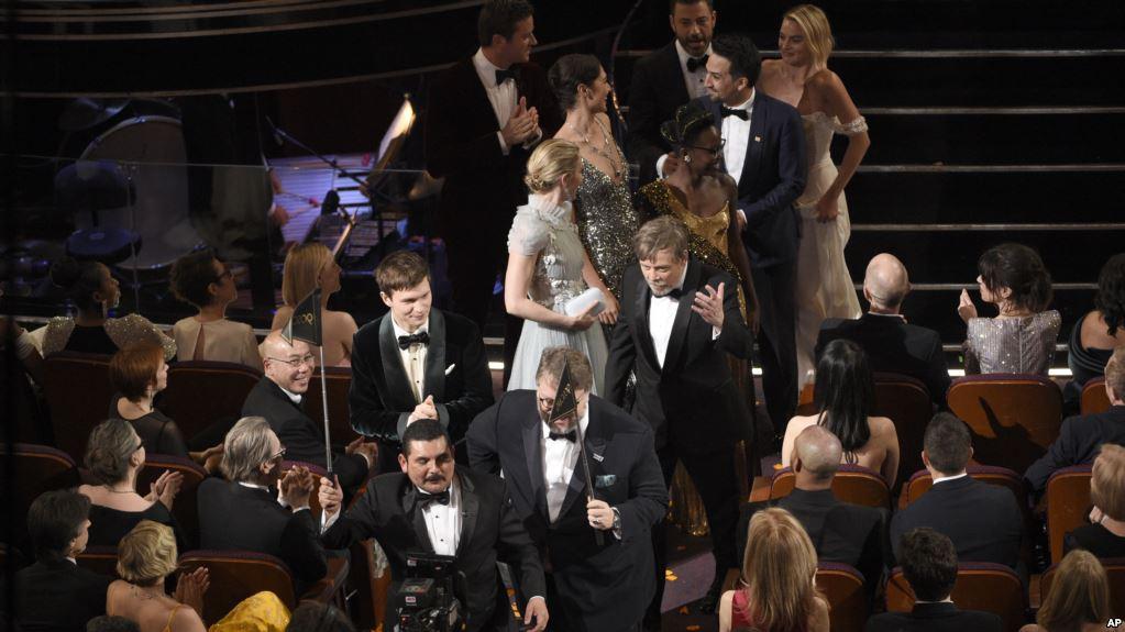 Оскар награждение