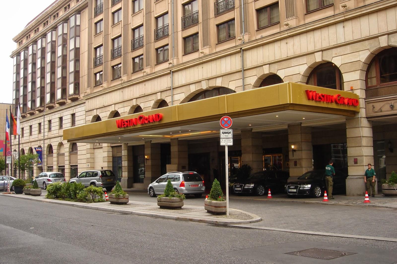 Отель в Берлине The Westin Grand 0