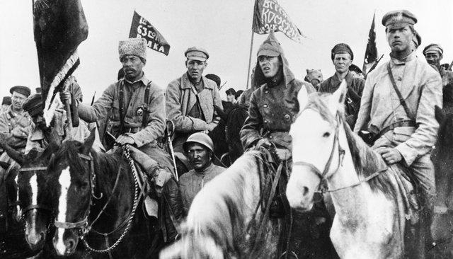 Бойцы 1-й Конной армии Буденного