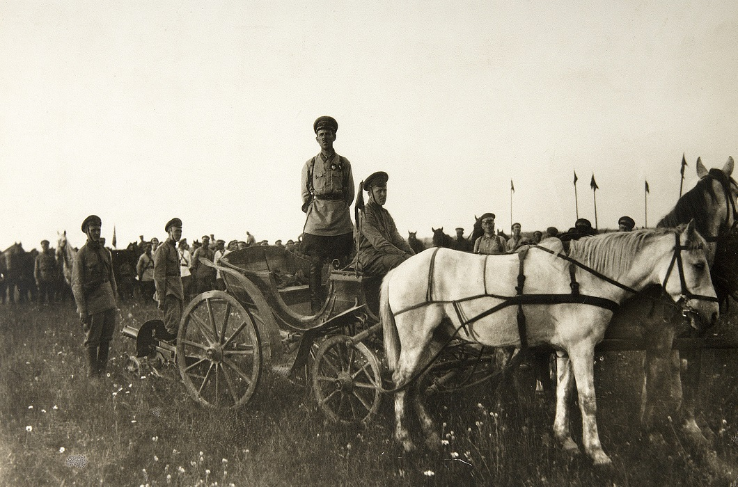 First Cavalry Army tachanka, Russian Civil War, 1919.