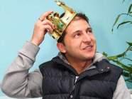 Зеленский с короной