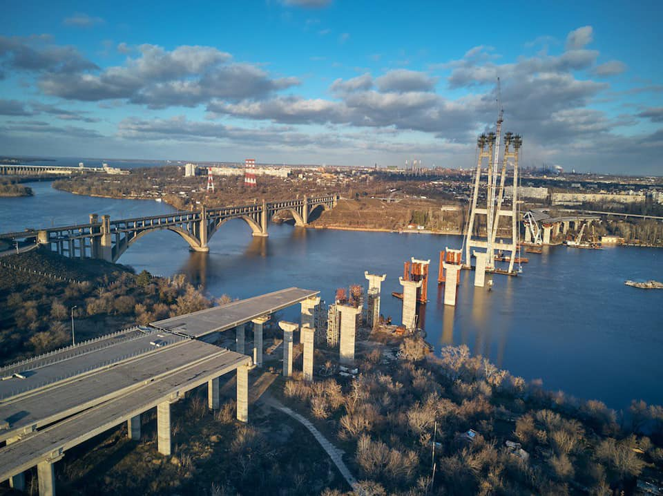 Запорожье мосты