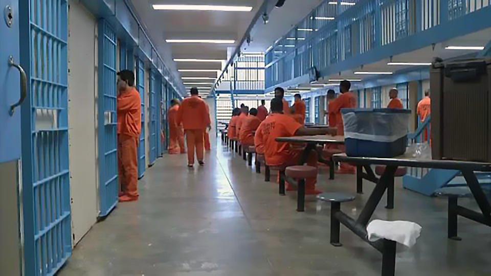 США тюрьма зэки