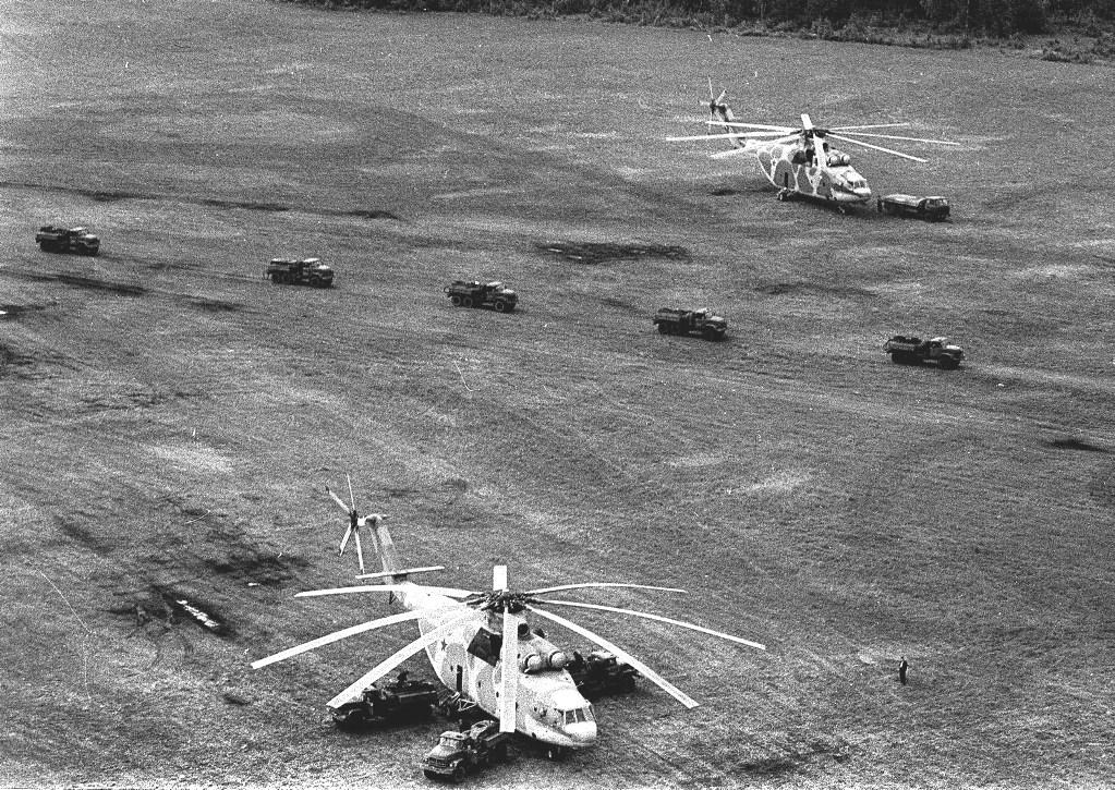 вертолет 1986