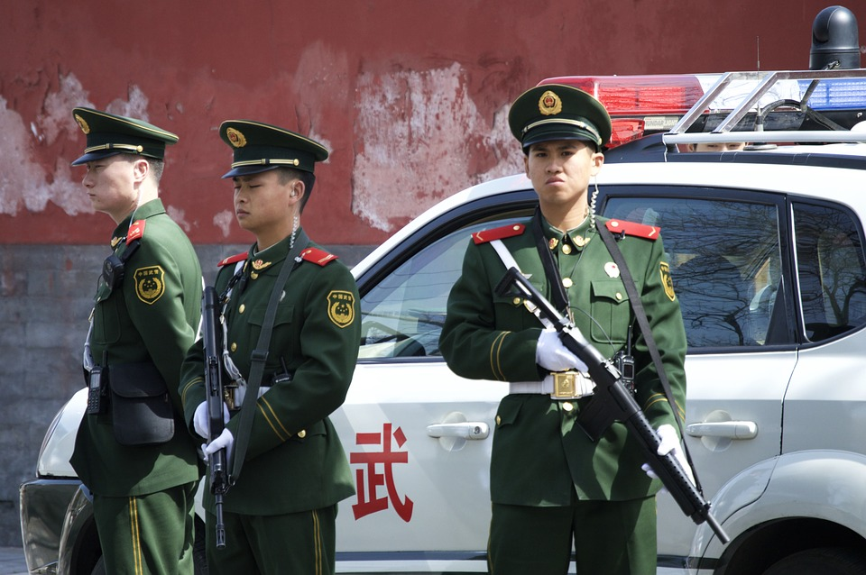 China Duty Official Police Beijing