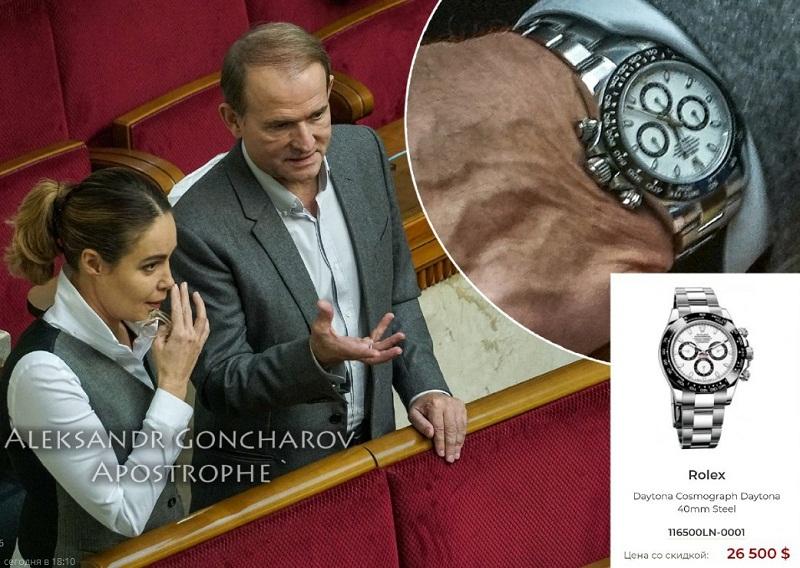 часы Медведчука