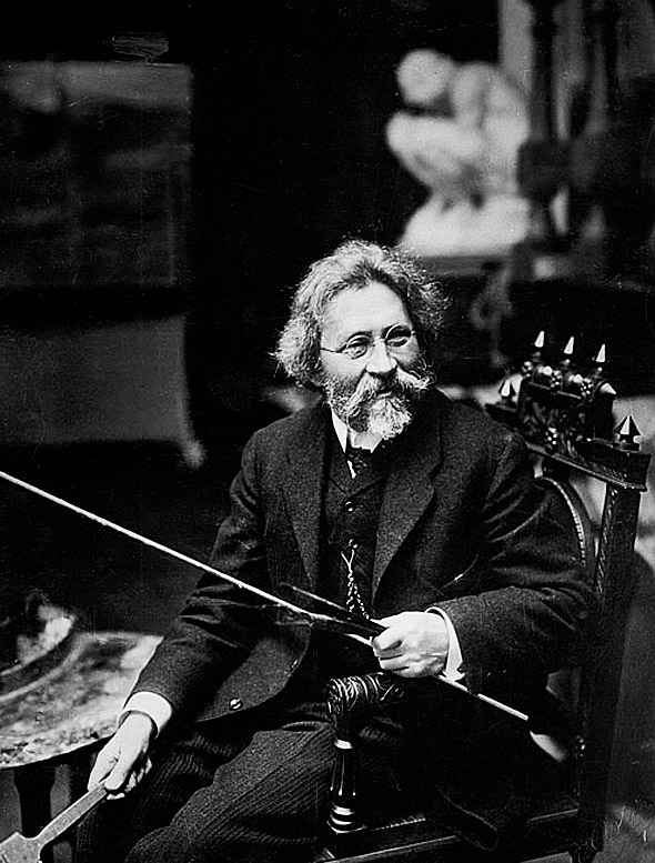 25.Илья Репин, 1909 год