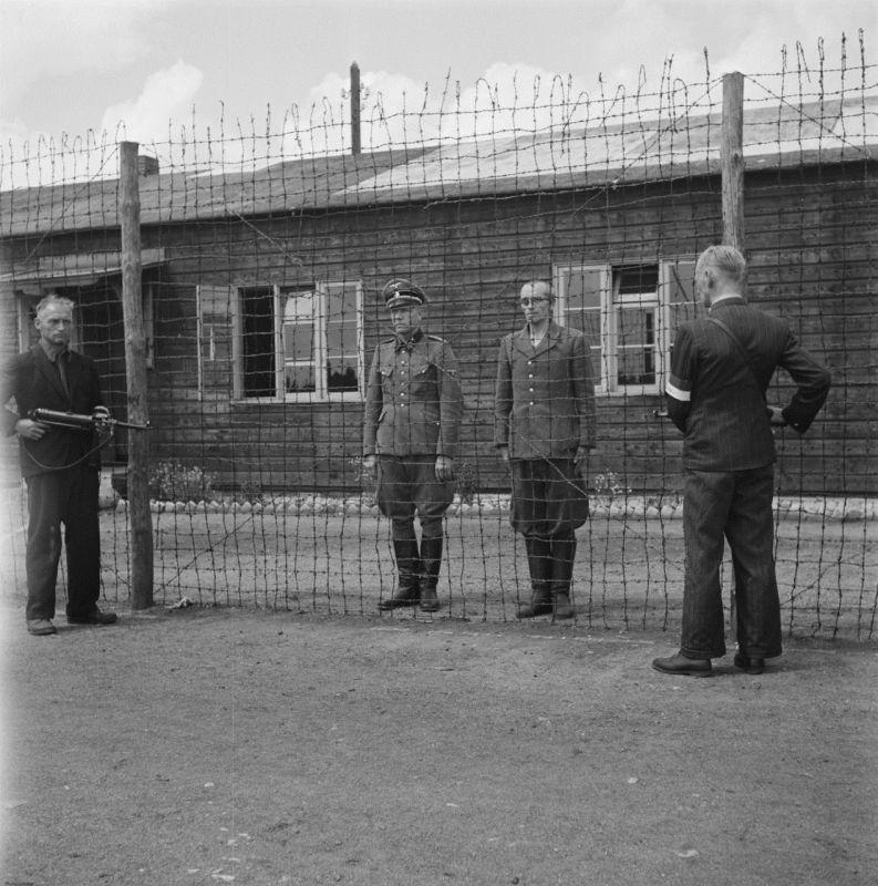 Германия комендант под арестом