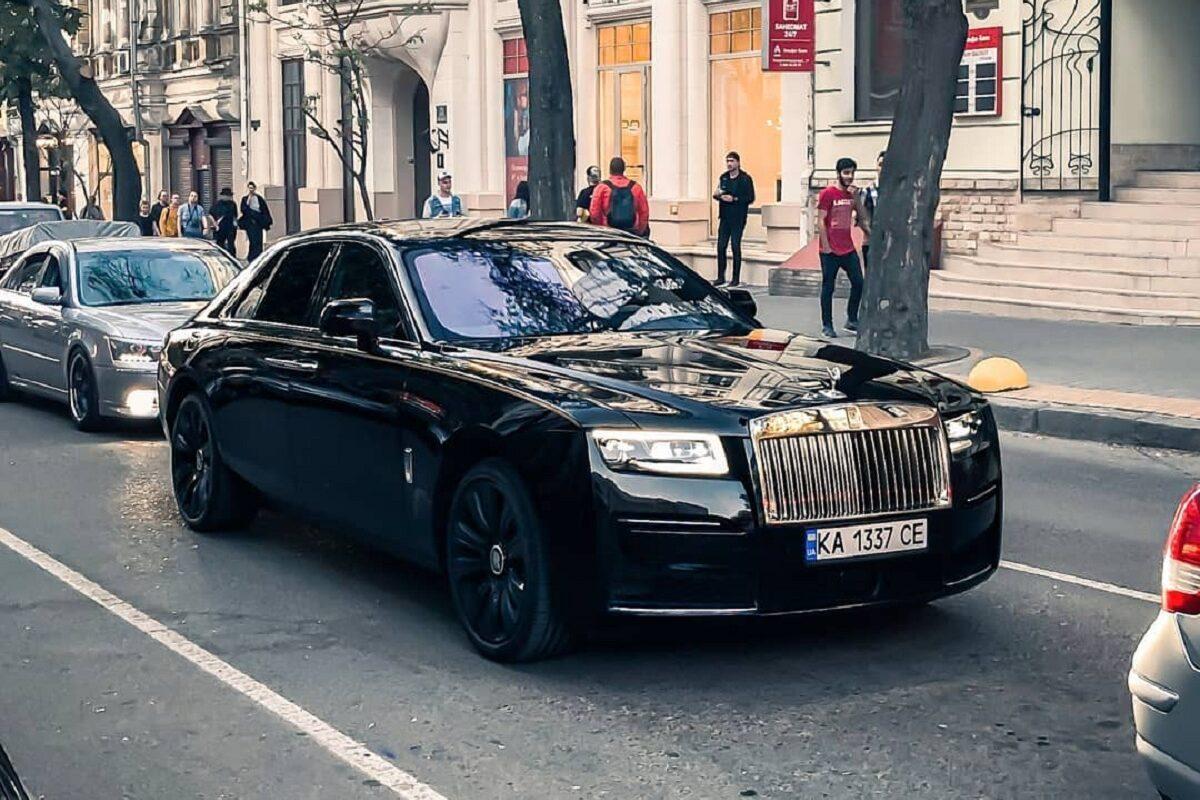 авто Одесса -Rolls-Royce 2021 года