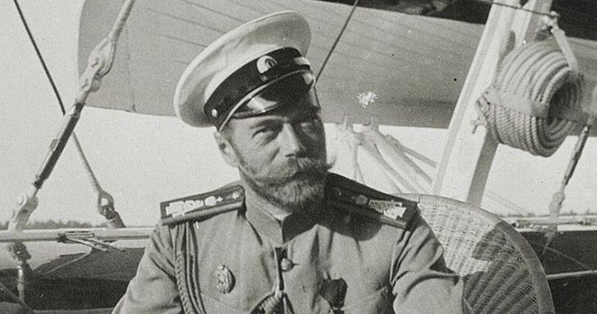 царь Николай второй-=
