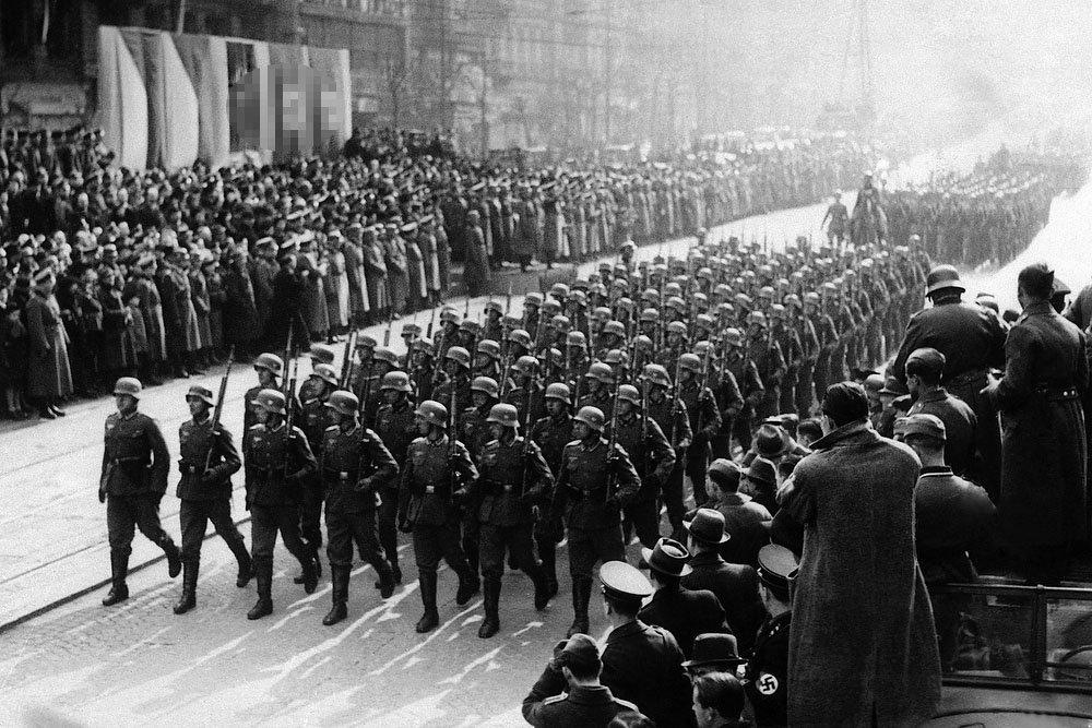 Чехослования нацисты