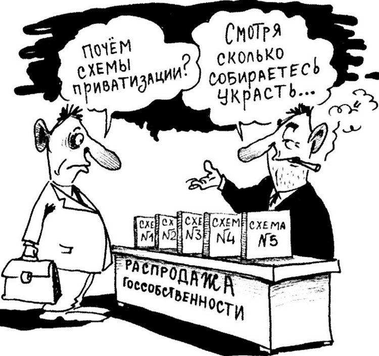 приватизация схемы-