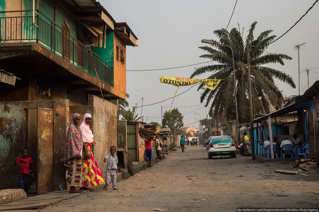 Конго улицы