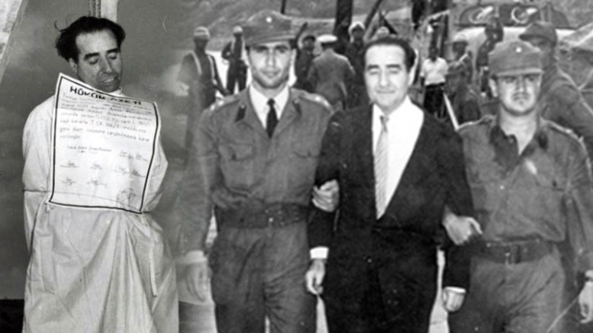 Аднан Мендерес - казненный премьер Турции ведут казнь