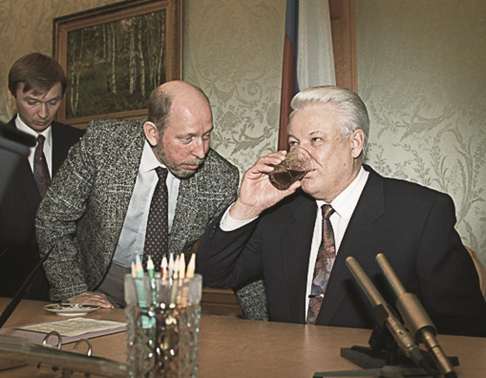 Костиков и Ельцин