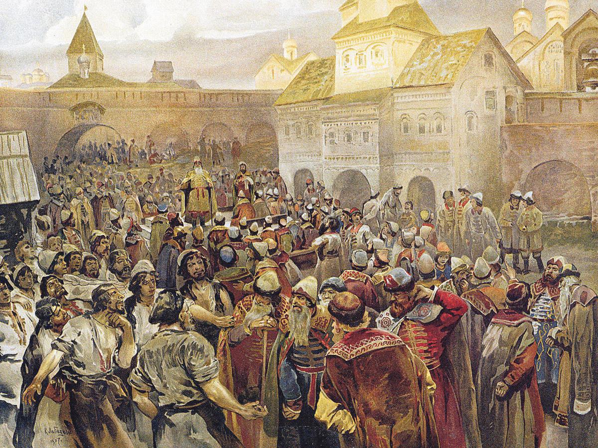 вече Киевская Русь