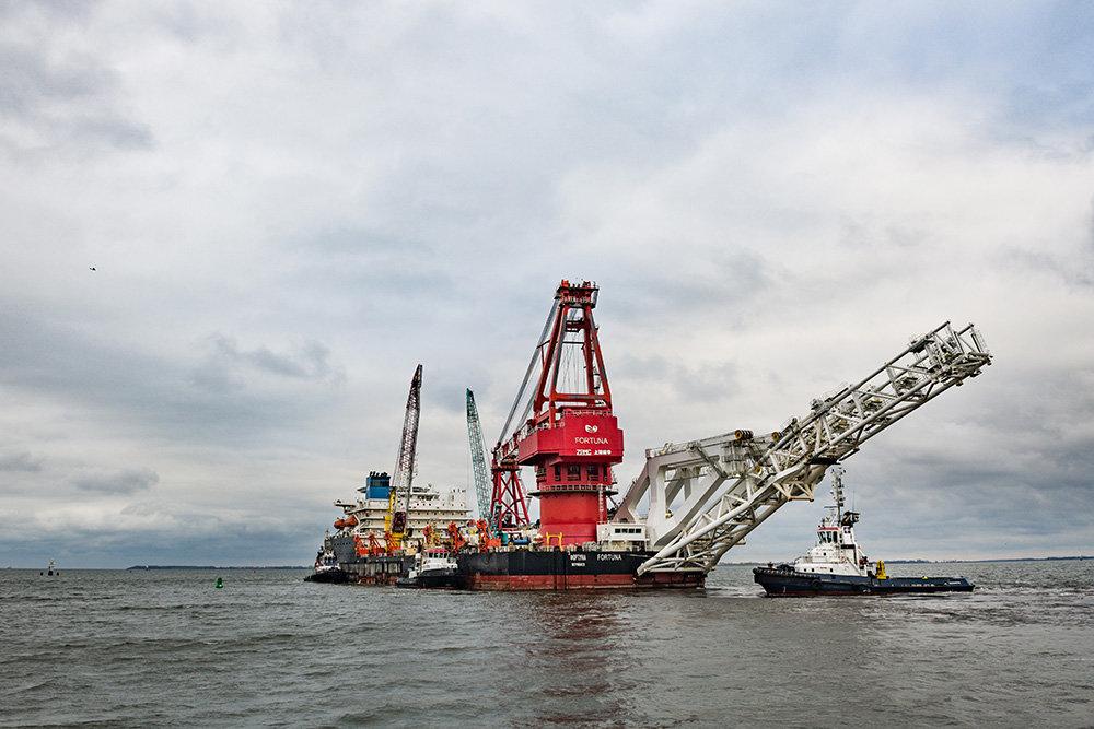 газ Балтийское море